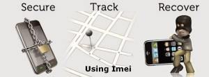 find lost phone using imei