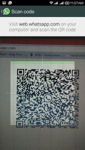whatsapp web qr