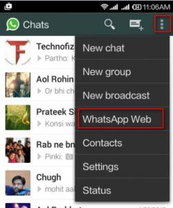 whatsapp web v