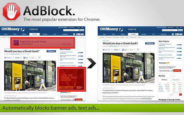 adblock extention