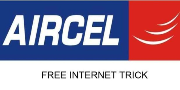Aircel Free Internet Trick