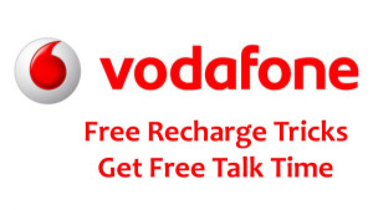 Vodafone Free Recharge Tricks - Get free Talktime on Vodafone