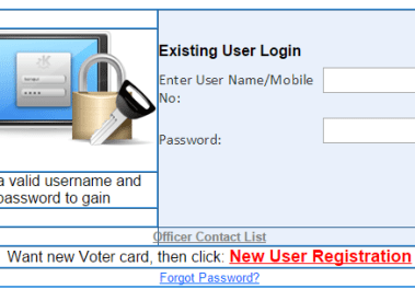 How to Apply Voter Id card Online in India- Election Card Registration