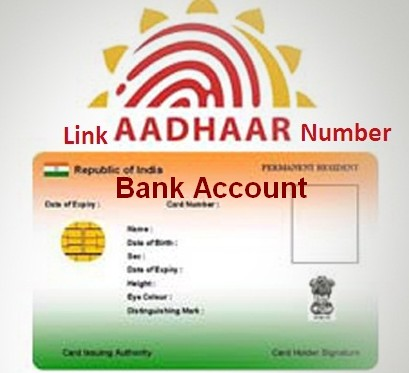 how to link aadhar card to bank account online