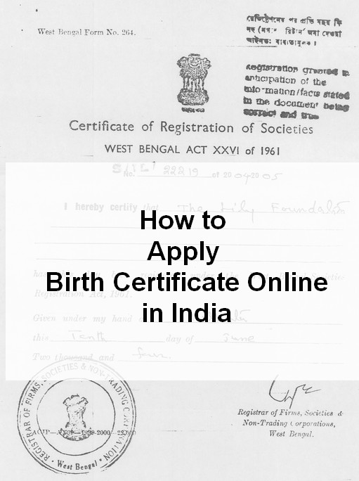 How to apply for date of birth certificate online in Melbourne