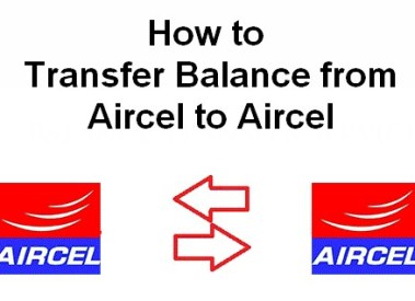 How to Transfer Balance in Aircel to Aircel Mobile Number – USSD Codes