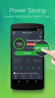 Battery Doctor best battery saver app