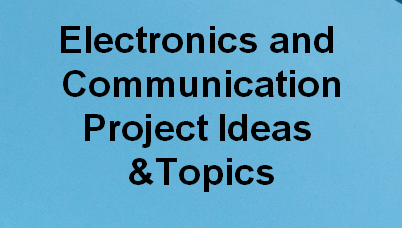 ece project ideas and topics
