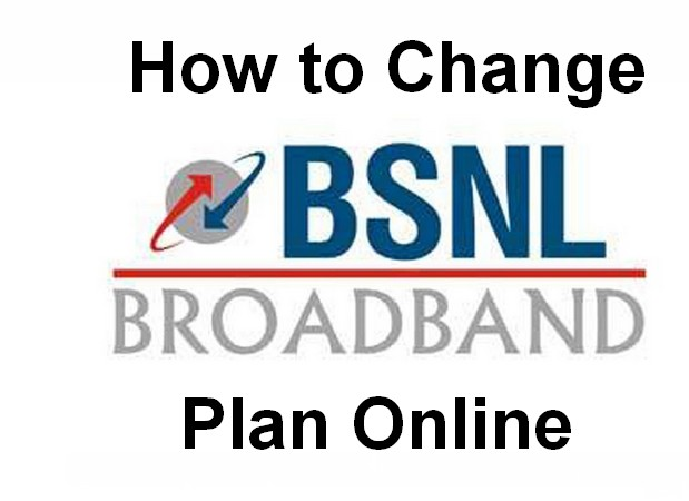 How to Change BSNL Broadband Plan Online