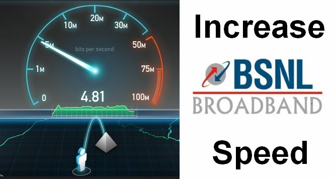 How to Increase BSNL Broadband Speed
