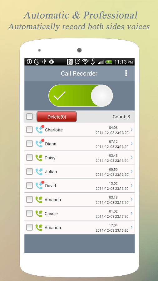 best call recorder app