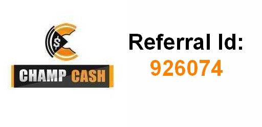champcash referral id