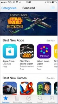 "Go to ""App Store"""