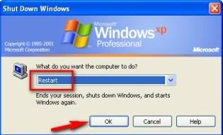Restart your PC again