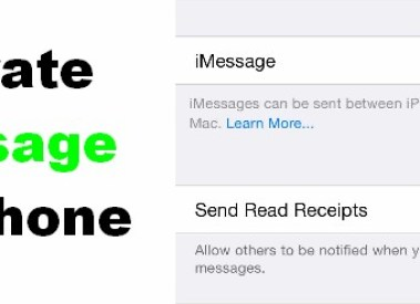 How to Activate iMessage on iPhone/ipad/ipod