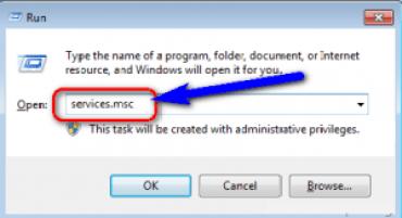 By Windows Installer Service