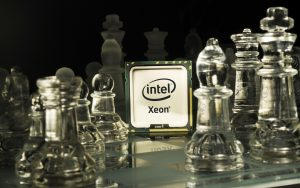 Intel Xeon HD Tech Wallpaper