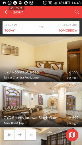 oyo room booking for free