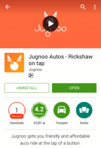 First Download Jugnoo App: Jugnoo Auto, Download Jugnoo for Android.
