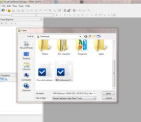 VCE file