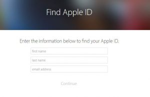 forget-apple-id