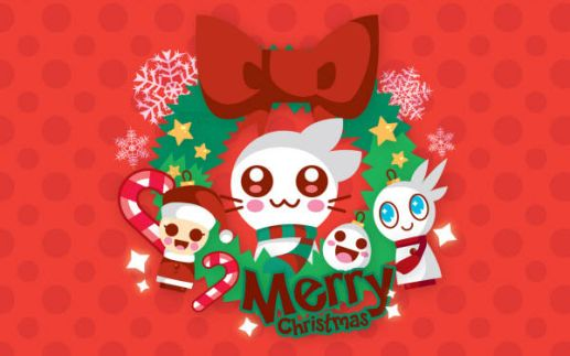 Cute Merry Christmas Wallpaper Desktop