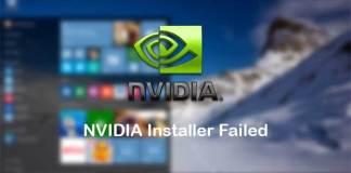 nvidia-installer-failed