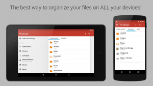 Gira Android file manager