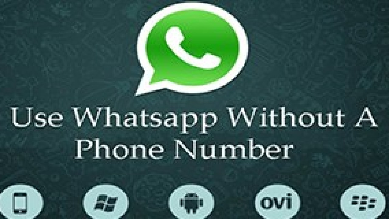 How to Activate Whatsapp Without Mobile Number or SIM SMS