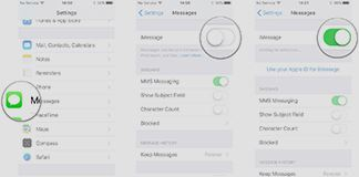 How to Activate iMessage on iPhoneipadipod
