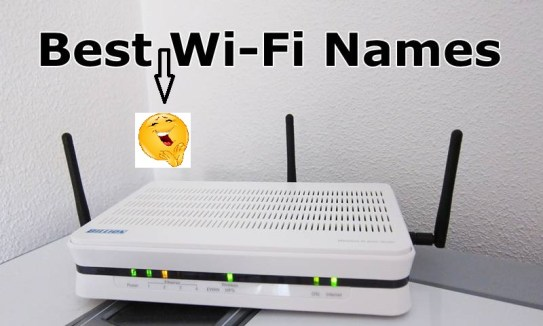 best funny wifi names