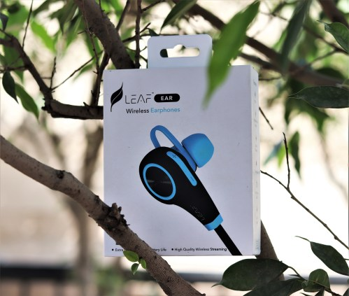 Carry Your Music with LEAF EAR Wireless Earphones