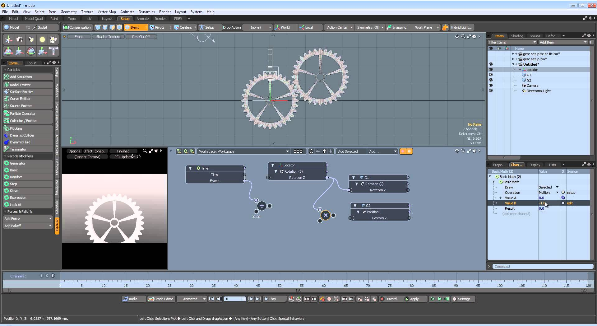 Design animation software