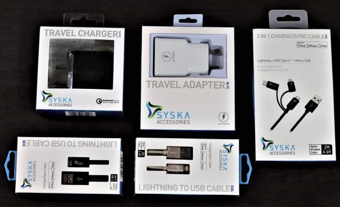 Charging Assortments by Syska Accessories
