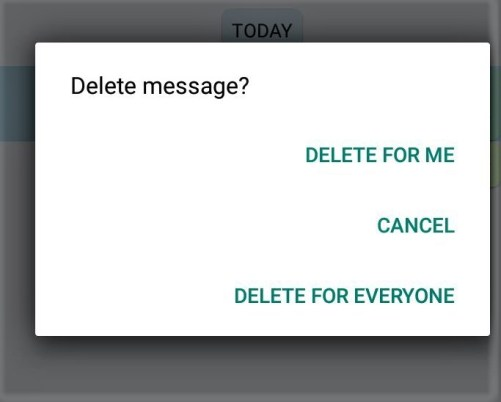"The Latest ""Delete for everyone"" feature of Whatsapp"