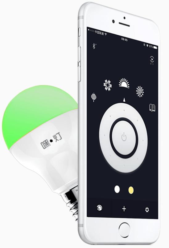 Heelight: Sound Controlled Multicolor Bulb