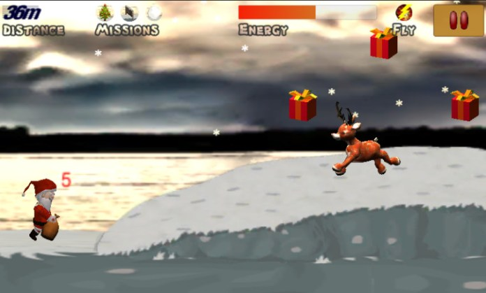 Mr. Santa - jump'n'run game