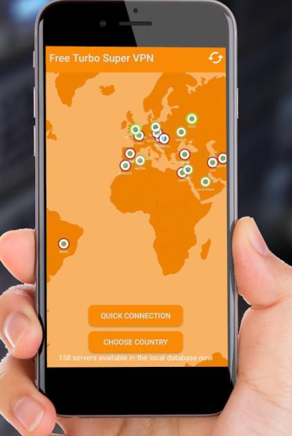Free Turbo Super VPN - Multi-location Ultra VPN