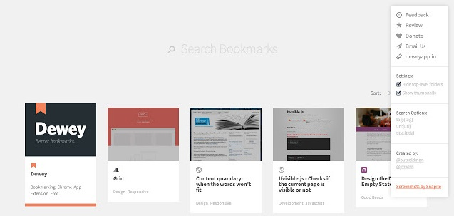Online Bookmark Manager Tools
