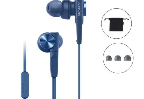 Sony MDR-XB55AP Premium In-Ear Extra Bass Headphones with Mic (3)