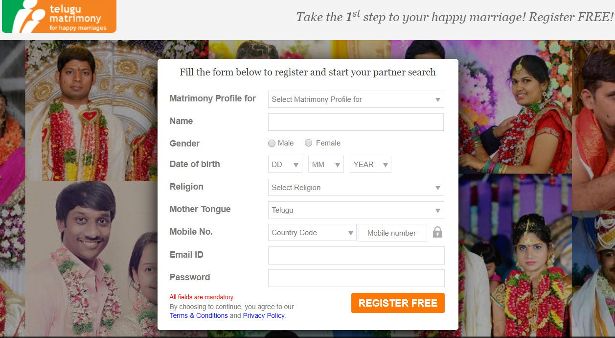 Free matrimonial websites with phone numbers
