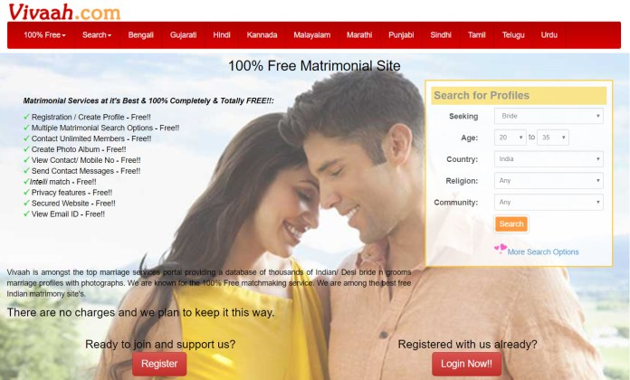 Matchmaking site india
