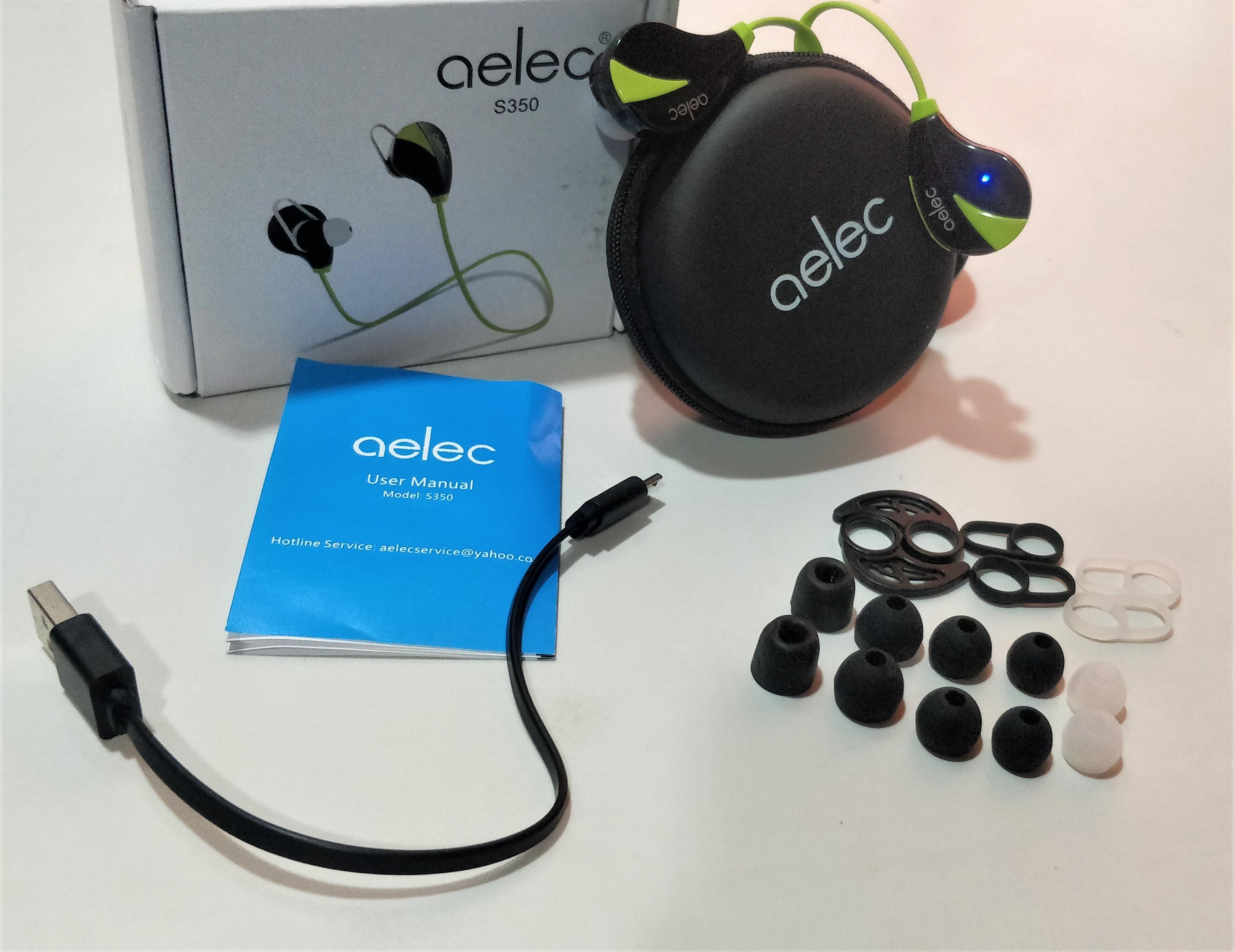 85a36fbd1a8 Review: Aelec S350 Bluetooth Headset | Sweatproof | In-Ear Sports Earbuds