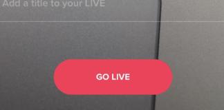 tik tok go live