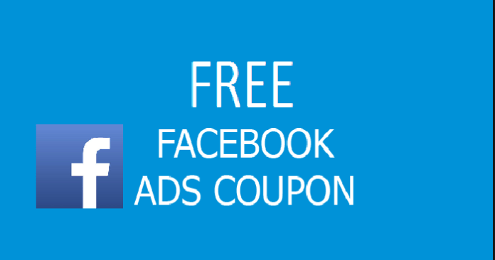 Free Facebook ad coupons