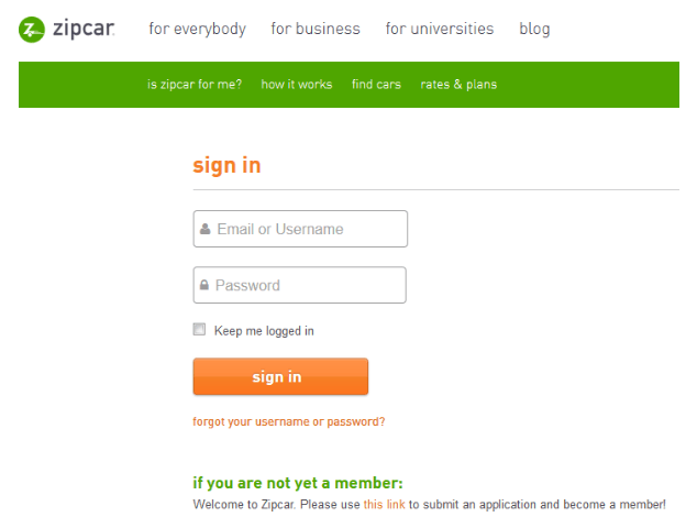 activate zipcar card