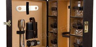 Black Butterfly Bar Tools Set - Kitchen, Home, Bar - Mega Bar Accessories (Brown)