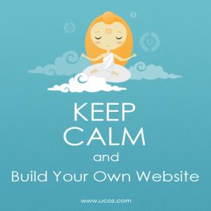 uCoz Webiste Builder