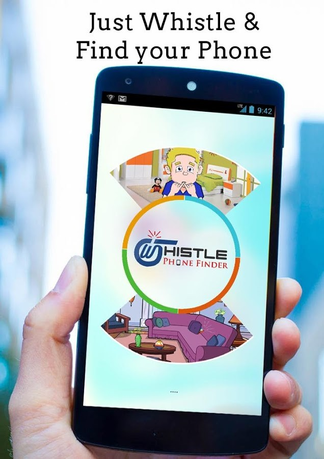 Whistle Phone Finder App