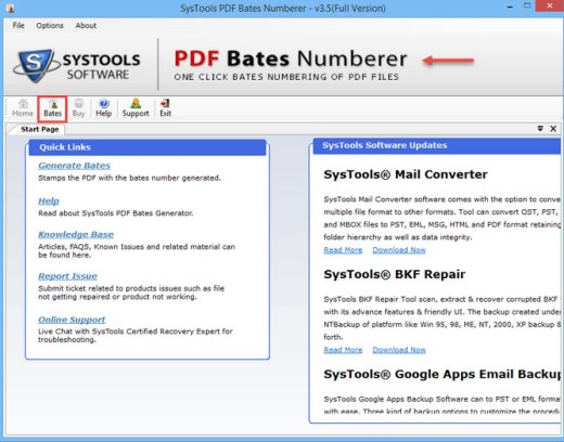 PDF Bates Numberer